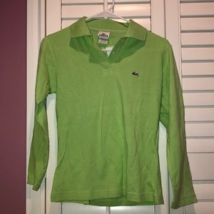 New Lacoste Long Sleeve Shirt